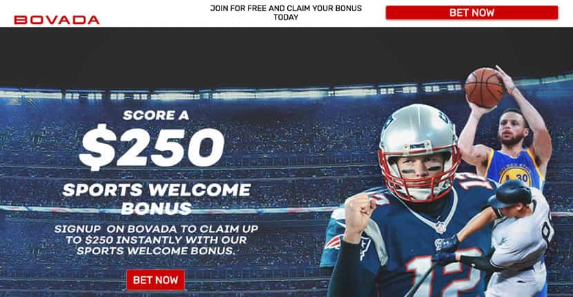 Bovada Sportsbook Promo Page