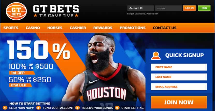 GTBets Promotions Page